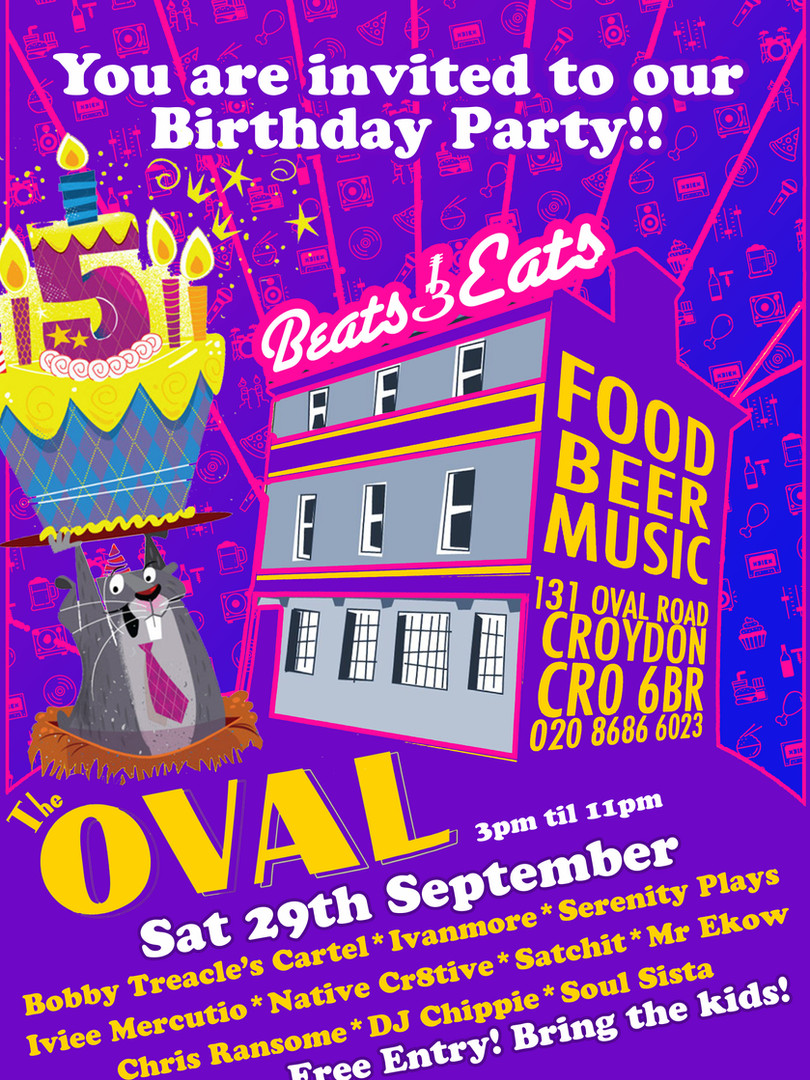 Beats & Eats 5th Birthday!