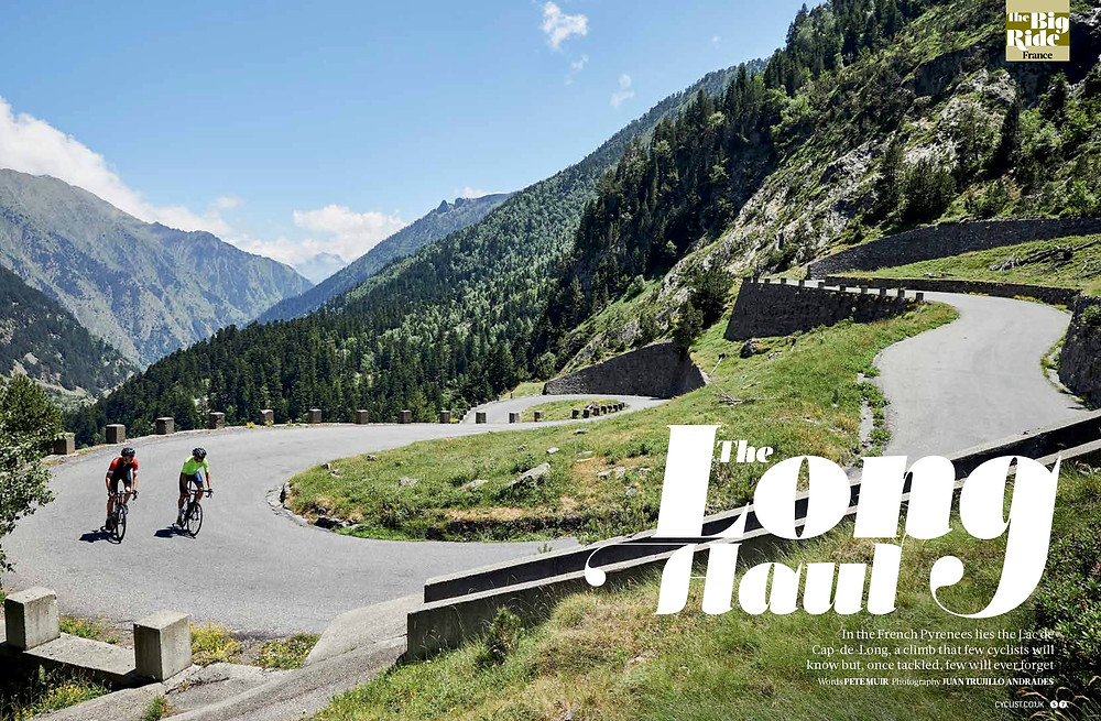 Cyclist magazine, Escape to the Pyrenees