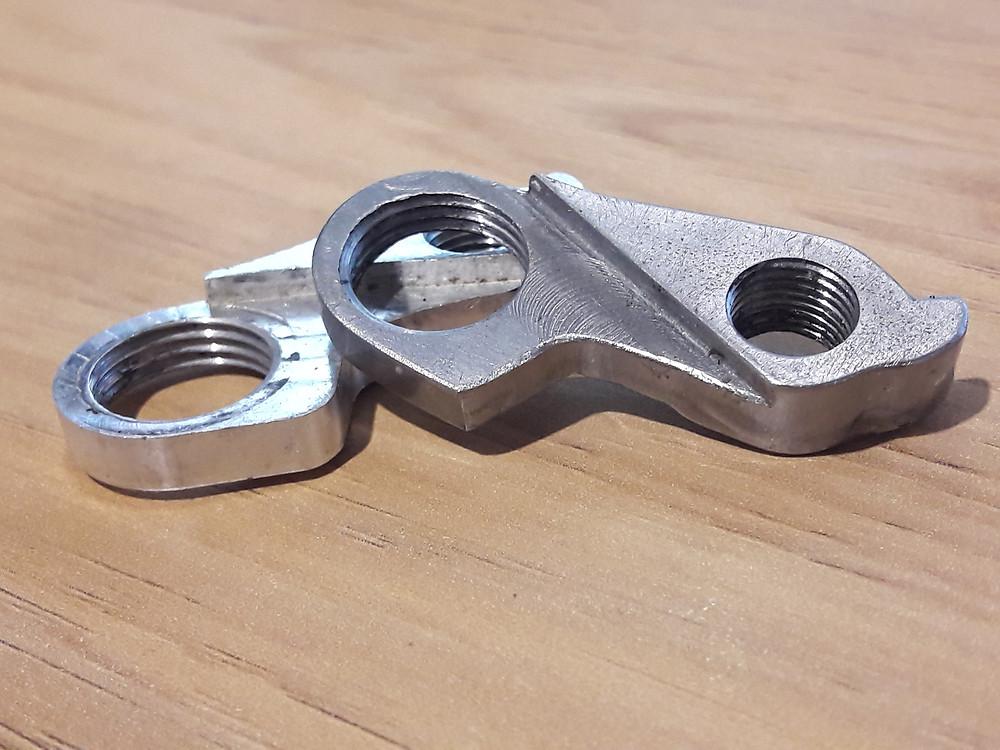 custom mech hanger, derailleur hanger, gear hanger