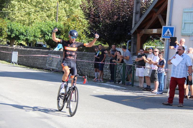 cycle race win, solo win, VCPL, Velo Club Pierrefitte-Luz, Ridley Noah SL