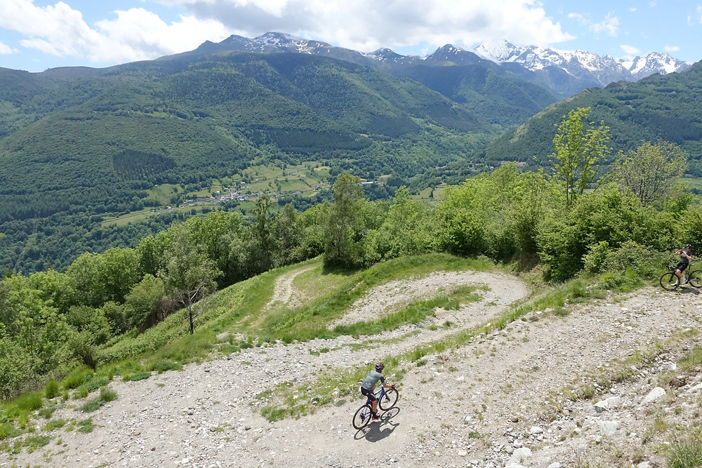 gravel cycling, Pyrenees, switchbacks, climb, gravel bike, gravel biking, gravel cycling, gravel adventure, mountains, Castelli, ENVE, FiftyOne, rocky