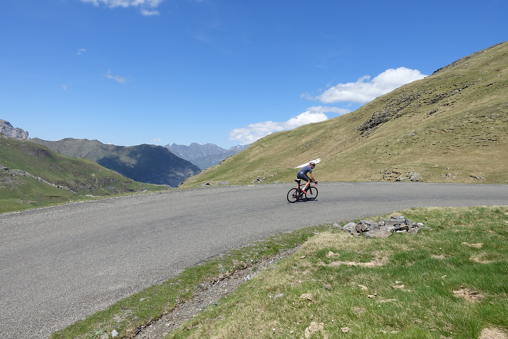 Col de Tentes, Pyrenees, mountains, cycling, climbing, what gearing, cassette size, long climb