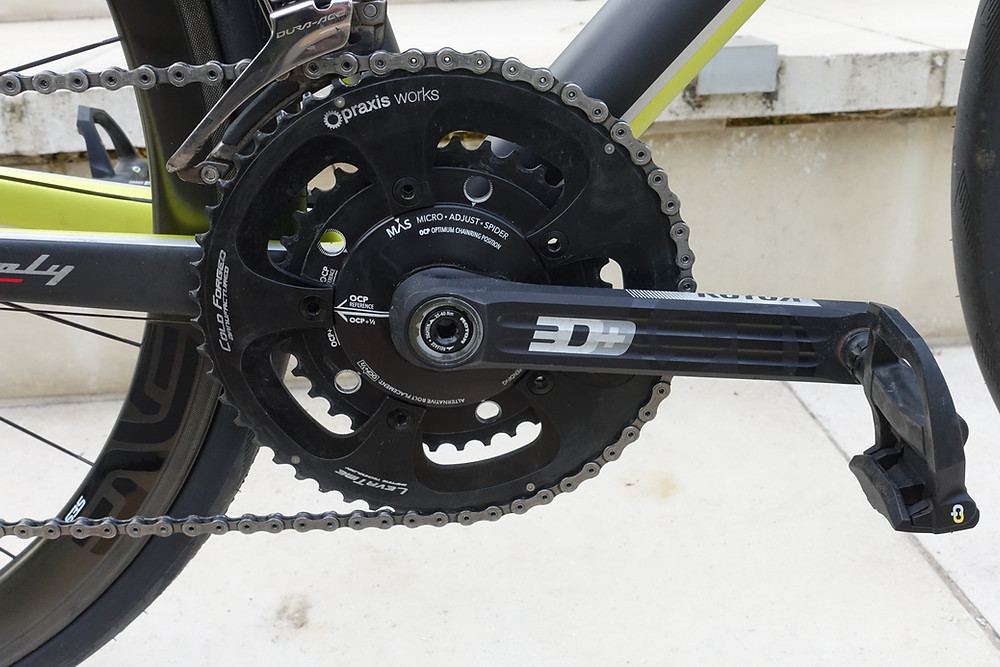 2x vs 1x, chainrings, drivetrain, crankset, road bike