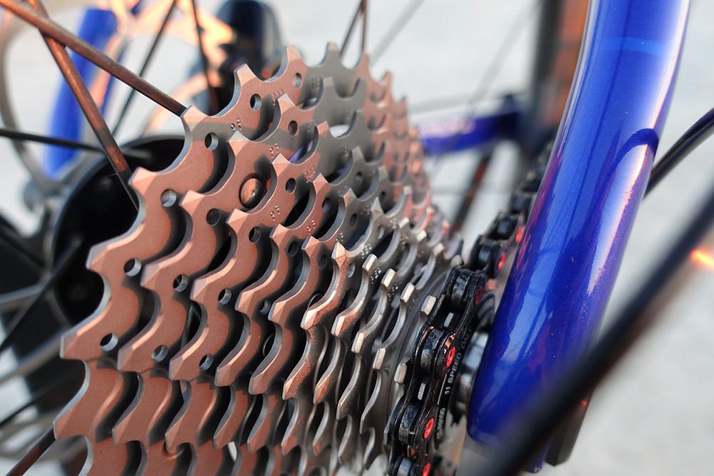 Rotor 11-30 cassette, bike drivetrain, chain, gears, gearing, mountains, road cycling