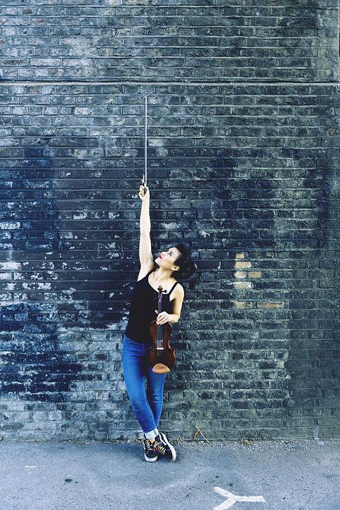 Deanna Avis Electric Violinist Essex & L