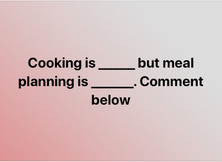 #1 Tip for Getting Past Meal Planning Misery