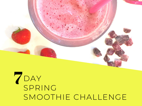 Get a Jumpstart with a Spring Smoothie Challenge