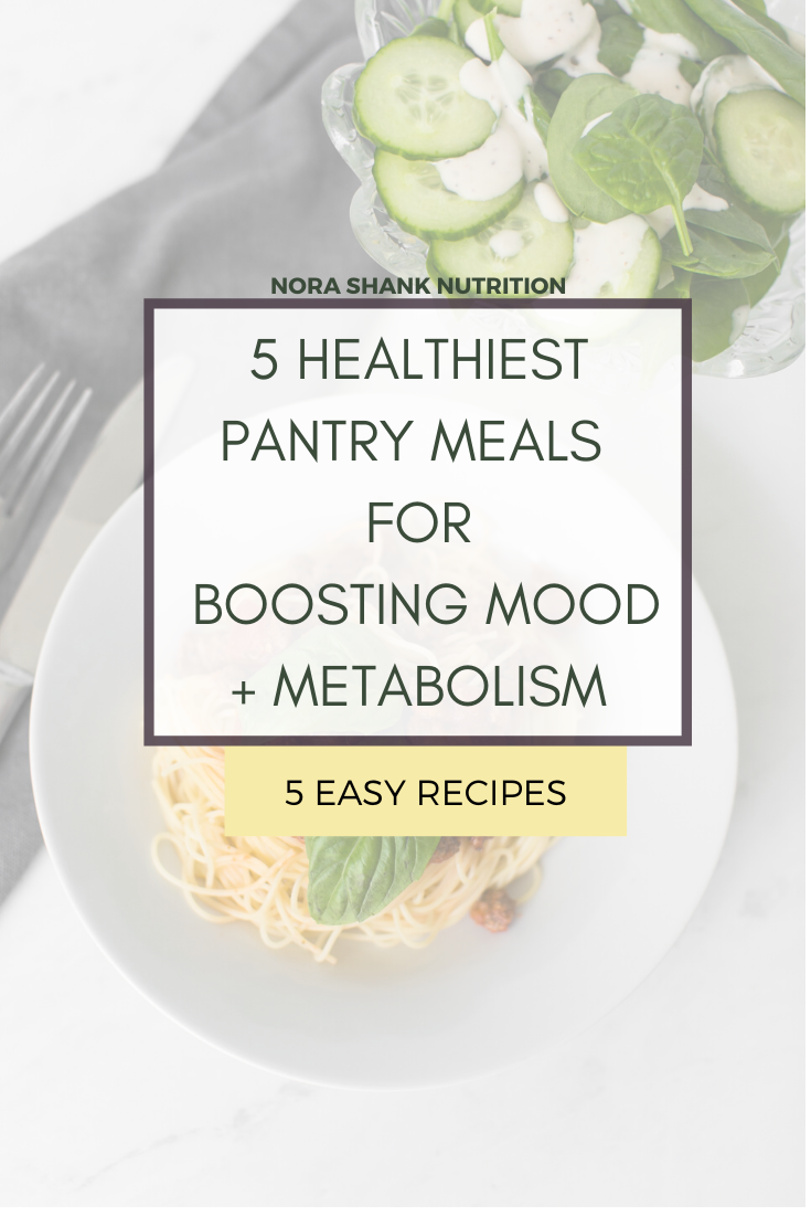Get 5 easy recipes to boost your mood and metabolism that you can make from your pantry