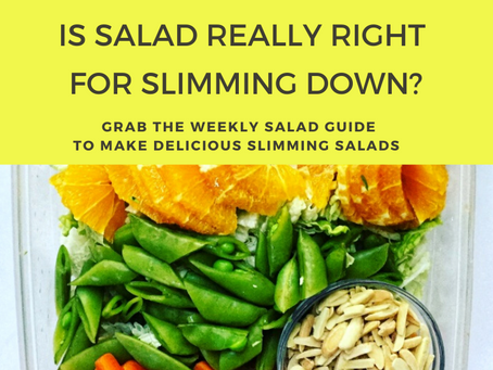 Is Salad Really Slimming? The Truth about Weight Loss + Salad Eaters