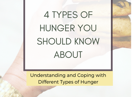 Hungry Again? 4 Types of Hunger That Might Override Your Routines Right Now