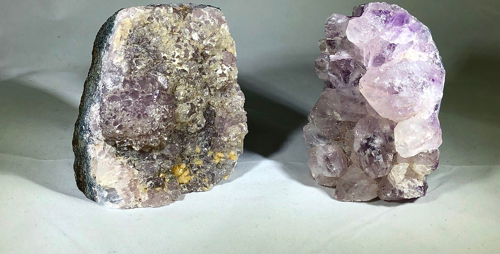 Amethyst cluster group 3