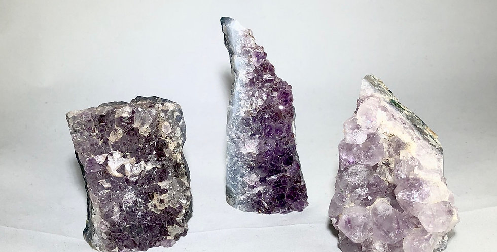 Amethyst cluster group 1