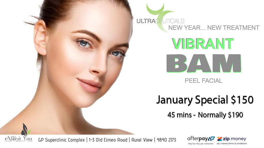 Vibrant BAM Peel Facial