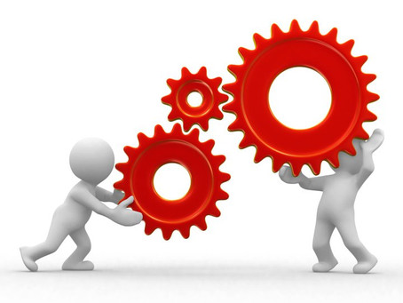 Two Process Professionals Working Together