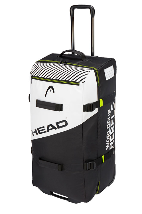 Сумка Head Rebels Travelbag anthracite/white/neon yellow