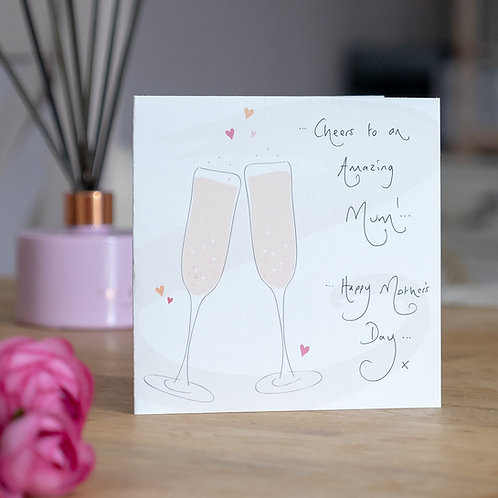 Cheers! Design Mother's Day Card