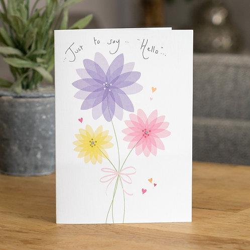 Tied Flowers Design