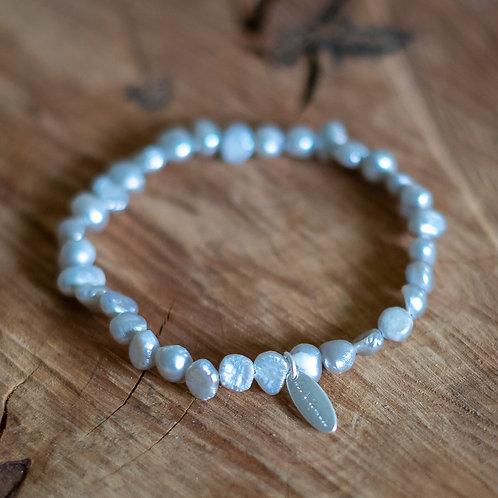 Morning Mist Freshwater Pearl Bracelet