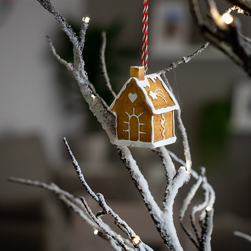 Gingerbread House Hanging Christmas Decoration