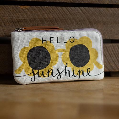 Hello Sunshine Glasses Case by Caroline Gardner