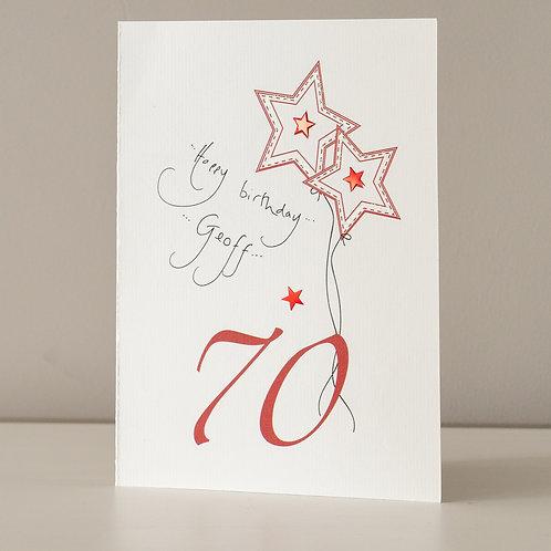 70 Red Star