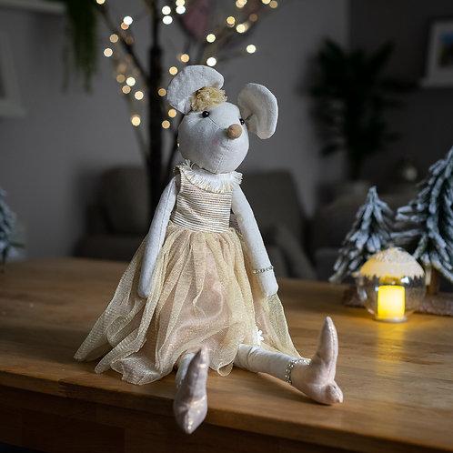 Princess Mouse Sitting Decoration