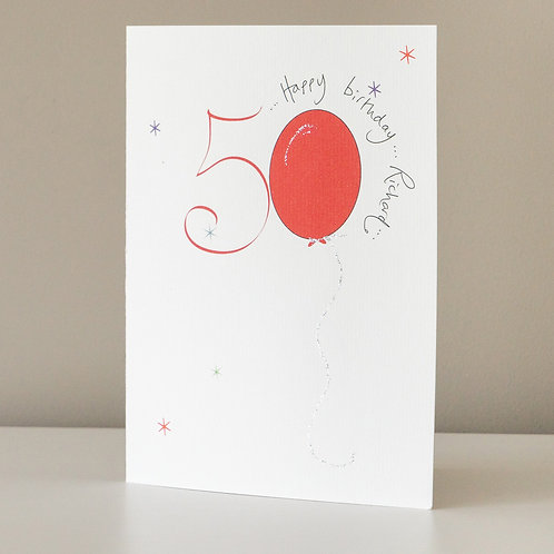 50 Red Balloon