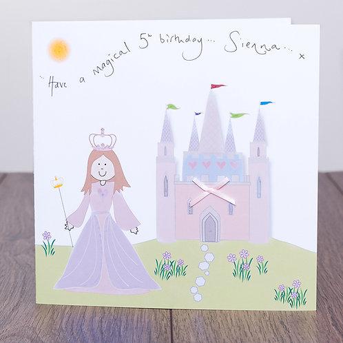 Fairytale Princess and Castle