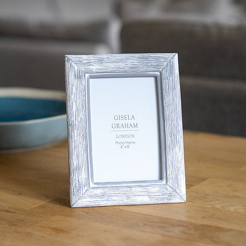 Grey Resin Photo Frame 6x4