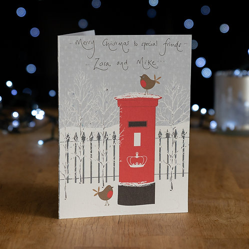 Red Robin and Postbox Design