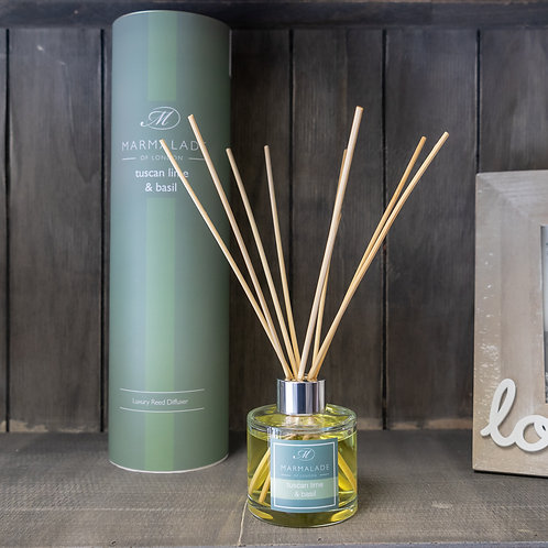 Tuscan Lime & Basil Large Diffuser by Marmalade
