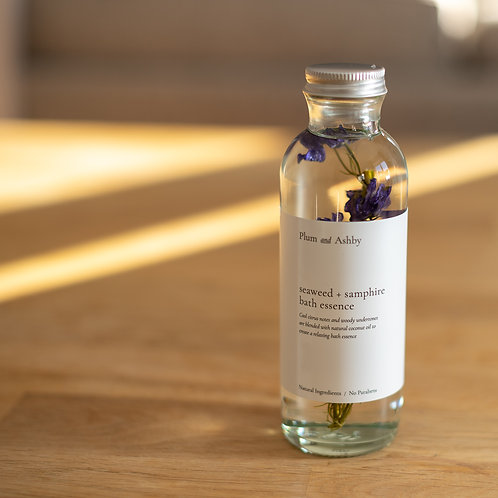 Plum & Ashby Seaweed & Samphire Bath Essence