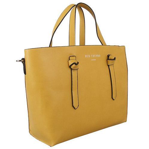 Citrus Knot Tote Bag by Red Cuckoo London