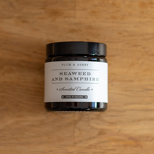 Plum & Ashby Seaweed & Samphire Scented Candle