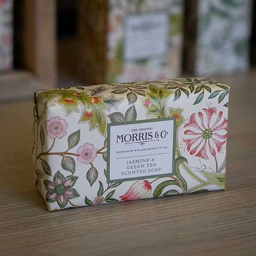 Morris & Co Jasmine & Green Tea Scented Soap
