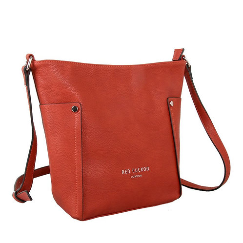 Rust Cross Body Bag by Red Cuckoo London