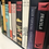 Thumbnail: Black Leather Bookworm Library Shoulder Bag
