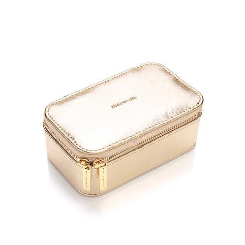 'Dream Big' Mini Jewellery Box - Gold