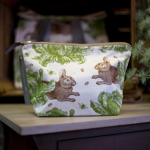 Rabbit Wash Bag by Thornback & Peel