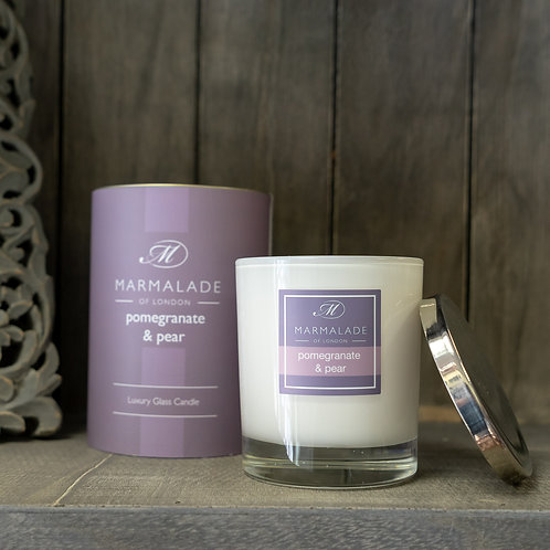 Pomegranate & Pear Large Candle by Marmalade