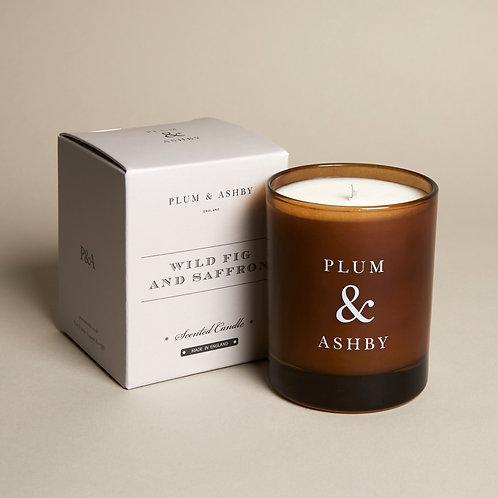 Plum & Ashby Wig Fig & Saffron Candle