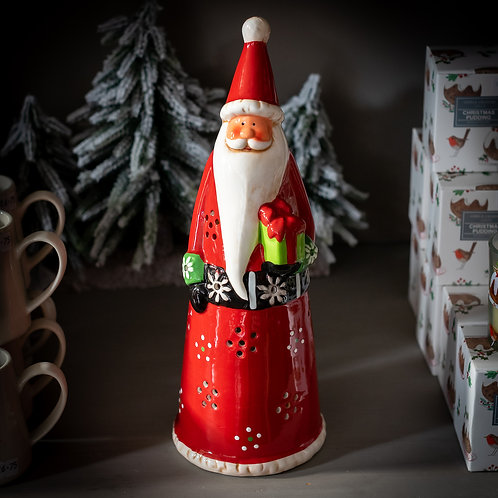 Ceramic Santa Christmas Decoration