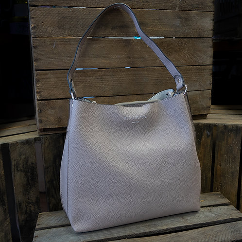 Taupe Shoulder Bag by Red Cuckoo London