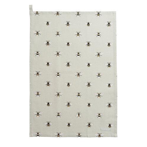 Bee Tea Towel by Sophie Allport