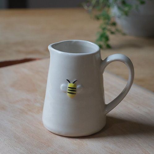 Mini Ceramic Jug  -  Bee Design