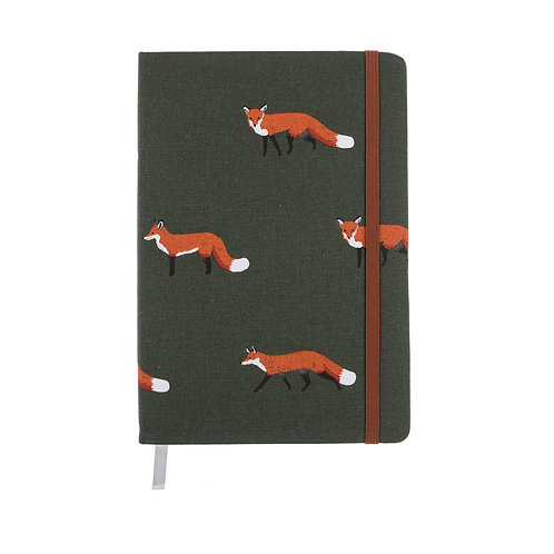 Foxy Notebook by Sophie Allport