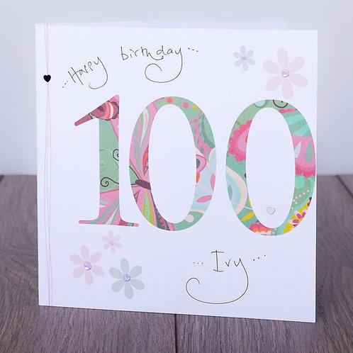 100th Birthday Floral