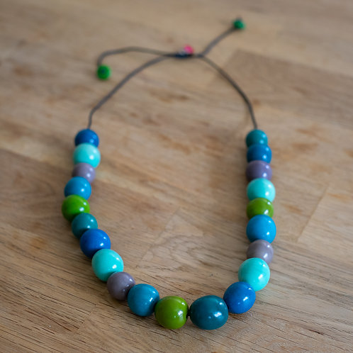 Chunky Eco Adjustable Necklace