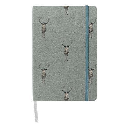 Highland Stag Notebook by Sophie Allport