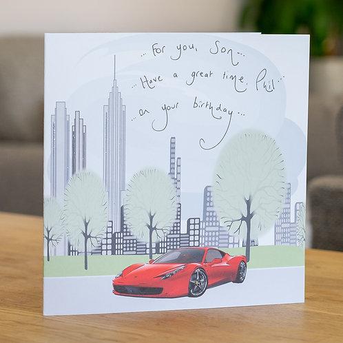 Ferrari in a New York City Design